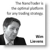 Trader Wim Lievens (WL 0800, WL Bars...).